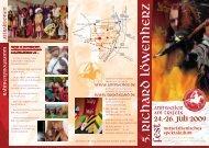 Flyer 5. Richard Löwenherz Fest 2009