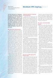 Merkblatt HPV-Impfung - Gesellschaft Anthroposophischer Ärzte in ...