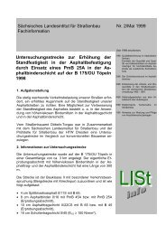 Sächsisches Landesintitut für Straßenbau Nr. 2/Mai 1999 ...