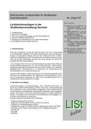 Sächsisches Landesinstitut für Straßenbau Fachinformation Nr. 2 ...