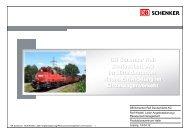 Vortrag DB Schenker Rail Produktionszentrum Halle