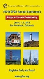 107th GFOA Annual Conference