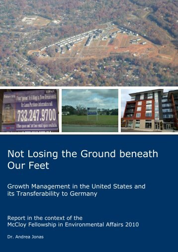 Not Losing the Ground beneath Our Feet - State of Oregon