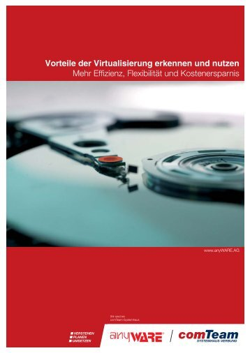 Vorteile der Virtualisierung erkennen und nutzen - anyWARE AG, Ihr ...