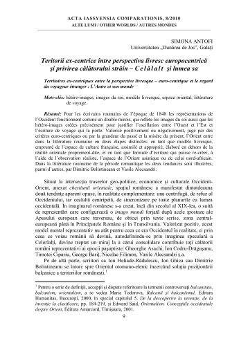 simona antofi - literaturacomparata.ro