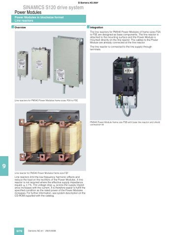 SINAMICS S120 drive system - Puerto Rico Suppliers .com