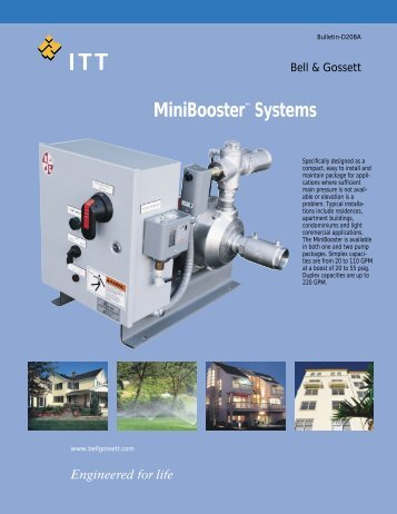 MiniBooster™ Systems - Puerto Rico Suppliers .com
