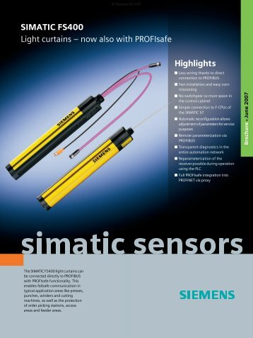 SIMATIC FS400 - Siemens