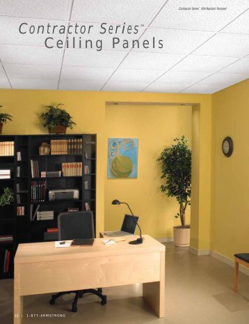 Contractor Series™ Ceiling Panels - Puerto Rico Suppliers .com