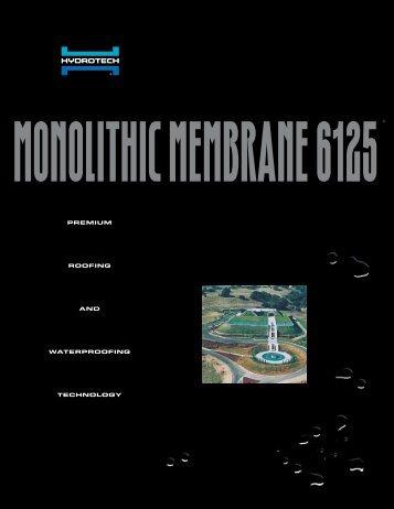 monolithic membrane 6125 - Puerto Rico Suppliers .com