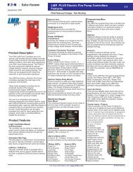 LMR PLUS Electric Fire Pump Controllers Features - Puerto Rico ...