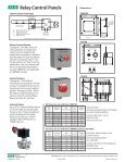 ASCO Relay Control Panels - Emerson Network Power - Page 2