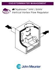 ®Hydrovex® VHV / SVHV Vertical Vortex Flow Regulator