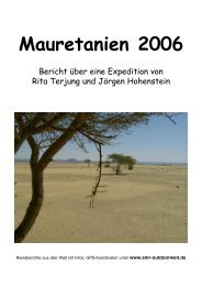 Mauretanien Gps-Koordinaten Tracks ... - Amr-Outdoorwelt