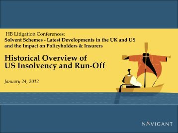 Historical Overview of US Insolvency and Run-Off - HB Litigation ...