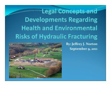 Powerpoint: Legal Concepts and Developments Regarding Health ...