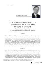 Prel. Mykolas Krupavičius – nepriklausomos Lietuvos ... - Logos