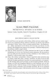 Suma prieš pagonis. Trečioji knyga. Apvaizda. 65–68 skyriai - Logos