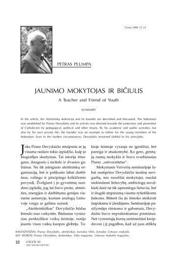 JAUNIMO MOKYTOJAS IR BIČIULIS - Logos