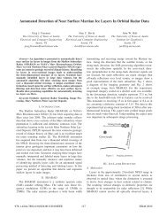 Automated Detection of Near Surface Martian Ice Layers In Orbital ...