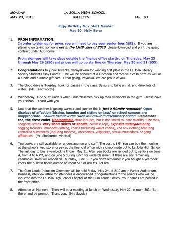 text/pdf - La Jolla High School