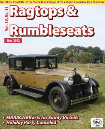 Weekly Magazine - Antique Automobile Club of America www.aaca ...