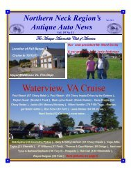 November 2011 - Antique Automobile Club of America www.aaca.org