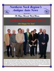 February 2013 - Antique Automobile Club of America www.aaca.org