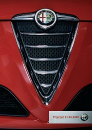 Prijslijst - Fiat
