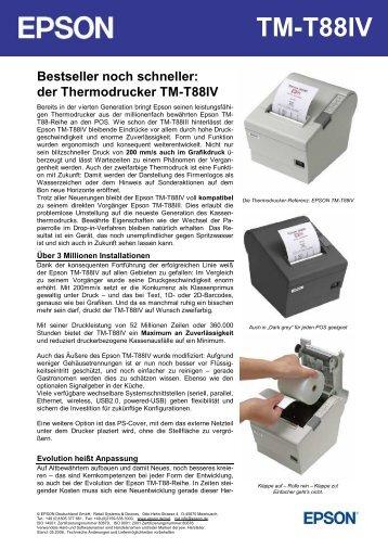 der Thermodrucker TM-T88IV