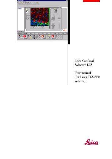Manual Leica LCS - LOCI