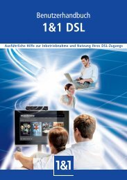 1&1 DSL - 1&1 Internet AG