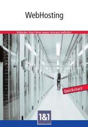 WebHosting - 1&1 Internet AG