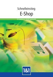 E-Shop - 1&1 Internet AG