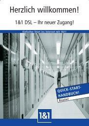 Herzlich willkommen! - 1&1 Internet AG