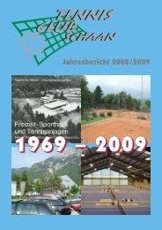Jahresbericht 2008/2009