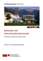 Nationales und Internationales Steuerrecht