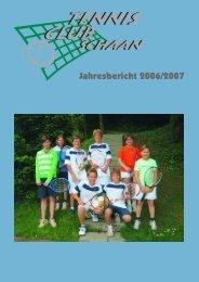 Jahresbericht 2006/2007