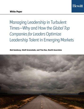 Global Top Companies for LeadersOptimize - Aon
