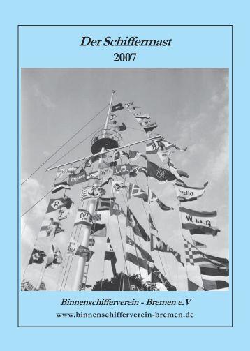 Der Schiffermast 2007