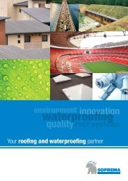 Your roofing and waterproofing partner - Soprema
