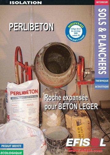 PERLIBETON - Béton léger isolant pour la réhabilitation ... - Soprema