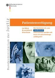 Patientenverfügung - seniorenrat-burgdorf