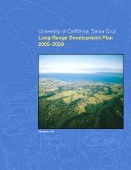 single - 2005 LRDP - University of California, Santa Cruz