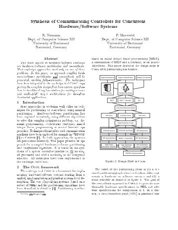 Synthesis of Communicating Controllers for Concurrent Hardware ...