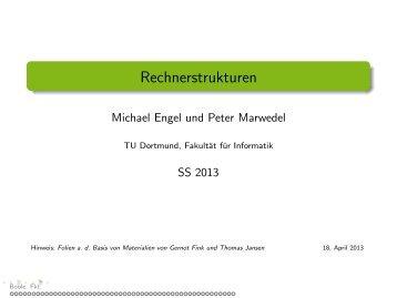 Rechnerstrukturen - TU Dortmund