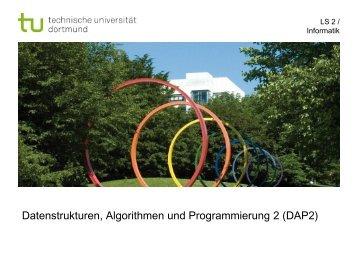Einführung und Laufzeit von Insertion Sort - Ls2-cs.tu-dortmund.de ...