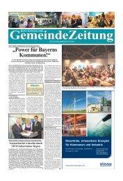 """""""Power für Bayerns Kommunen!"""""""