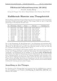 Einführende Hinweise zum Übungsbetrieb - Ls6-informatik.uni ...