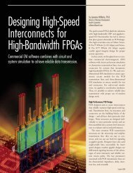 Designing High-Speed Interconnects for High-Bandwidth FPGAs